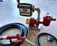Bomba Rossi 12v Combustible con Kit Surtidor - (O 220v)