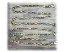 Cadena Grado 70 3/8con Ganchos Grabs Hook 6m - Rubiolo