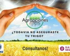 Asegura TU Cultivos -allianz - Sancor - Todo el Pais