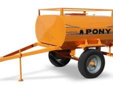 Acoplado Tanque Combustible 1500 Lts. Pony