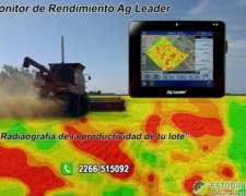 Monitor de Rendimiento AG Leader. Promoción Plan Recambio