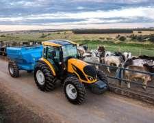 Tractor Valtra a 124 - Caja Mecánica con Hishift