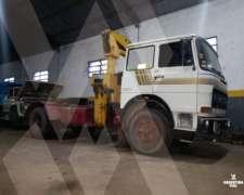 Camión con Hidrogrúa Fiat 150 (id487)
