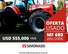 Massey Ferguson 680 Dt (180 Hp) Año 2006