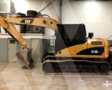 Excavadora Caterpillar 312 CL (id667)