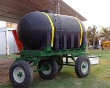 Acoplado Tanque 7.200 Lts. P/leche o Agua C/bebede