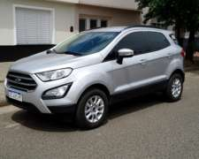 Oport. A 0km Solo 2.917 Km. Ford Ecosport 1.5 At Full 2018