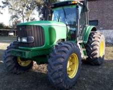 Tractor John Deere 6615, 125hp, Doble Tracción, 2005