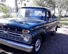Ford F100 66 V8 para Entendidos