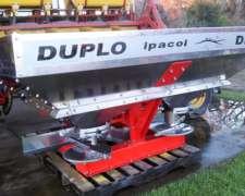 Fertilizadora Ipacol Dfd-1500, Doble Disco , para 3 Puntos
