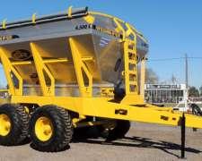 Fertilizadora SR Tolva de Acero Inoxidable - 4500 Lts