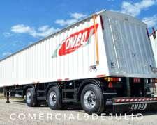 Semirremolque Tolva Semillera Camion Ombu 1 + 1 + 1 55.5t