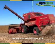 Cosechadora Don Roque 125, Tracción Simple