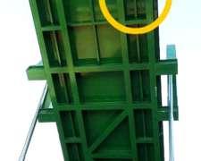 Plataforma Volcadora Hidraulica, Descarga De Camiones