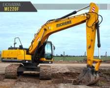 Retro Excavadora Oruga Michigan Me22of