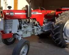 Tractor, Massey Ferguson 165, 3 Puntos, Doble Control, Gomas