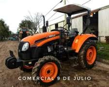 Tractor Zanello Ecoline 4065 4X4 65hp - 9 de Julio