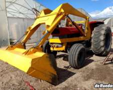 Tractor Massey Ferguson con Pala Cañomat