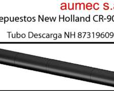 Tubo de Descarga CR 9060, Chapa 1/8