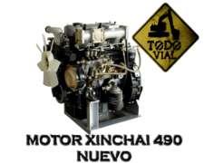 Motor Xinchai C490 Completo Nuevo 0km Todo Vial