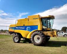 New Holland CS 660 Super Flow año 2008 con 30p