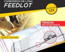 Comederos Premium de Lona para Feedlot X 25 Mts.