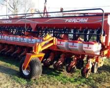 Sembradora Fercam 14/ 52 Doble Fertilizacion