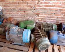 Liquido Lote de Motores Eléctricos Usados