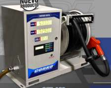 Surtidor Digital A 12 Volts. Para Gas Oil / Con Enrollador