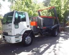 Ford Cargo con Porta Volquete