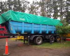 Scania 113h360 con Batea
