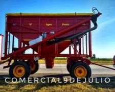 Tolva Semilla y Fertilizante Agrofenix 14tn Nueva