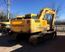 Excavadora Hyundai 210lc -7 2007