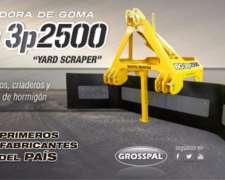 Barredora De Goma 3 Puntos Grosspal Bg3p 2500