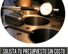 Rectificación De Motores Diesel Nafta Enchavetado Semiarmado