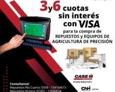 Plan Visa 3 y 6 Cuotas sin Interés