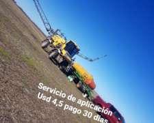 Aplicaciones Zona Salto ,chacabuco, Rojas, Junin, Chivilcoy