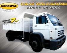 Caja Volcadora Grosspal Sobre Camion.