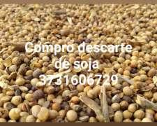 Compro Soja y Garbanzo Descarte