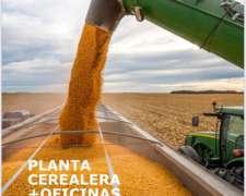 Oportunidad Planta Acopio de Cereales MAS Oficinas.-