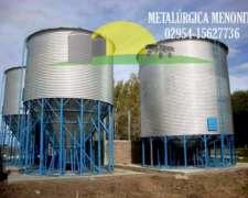Silos Aéreos 60 Tn Cono Fertilizante