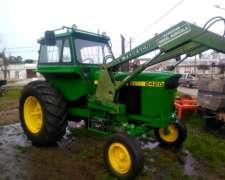 Tractor John Deere 2420 con Pala Tedeschi