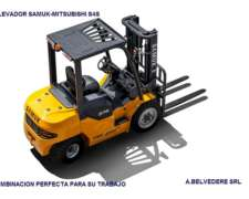 Autoelevador Samuk-mitsubishi Diesel 3.3 Euro 3 , 0km 2017