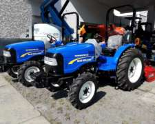 Tractor New Holland Wormaster 40 HP Lanzamiento