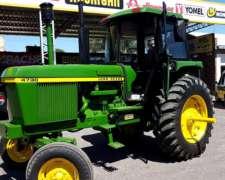 Tractor John Deere 4730, Cignoli Hnos Arequito.