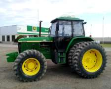 Tractor John Deere 7500, año 1997