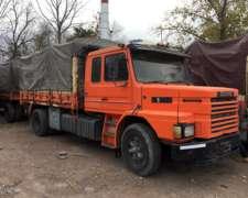 Scania 112 310 1989 Enganchado con Acoplado 1994