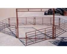 Panel y Puerta para Ovinos Mecano Ganadero - el Impenetrable