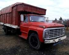 Equipo Enganchado Camion Ford 700 Con Acoplado Montenegro