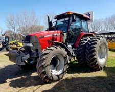 Tractor Case MXM 180,usado con Piloto Automático Trimble.